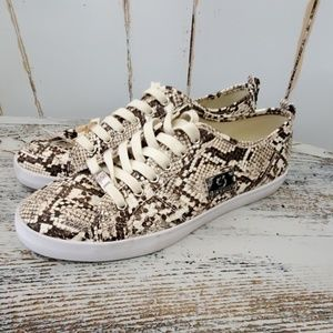 Guess Sneakers Snakeskin Print Size 10